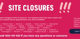 Covid-19 Site Closures