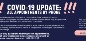 All Appointments Via Phone Only